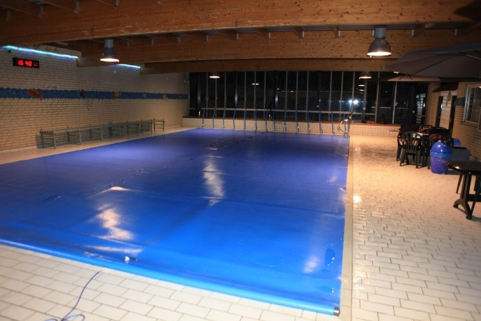 Blue poolcovers afdekkingen